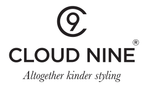 Cloud Nine Logo + strap BLACK