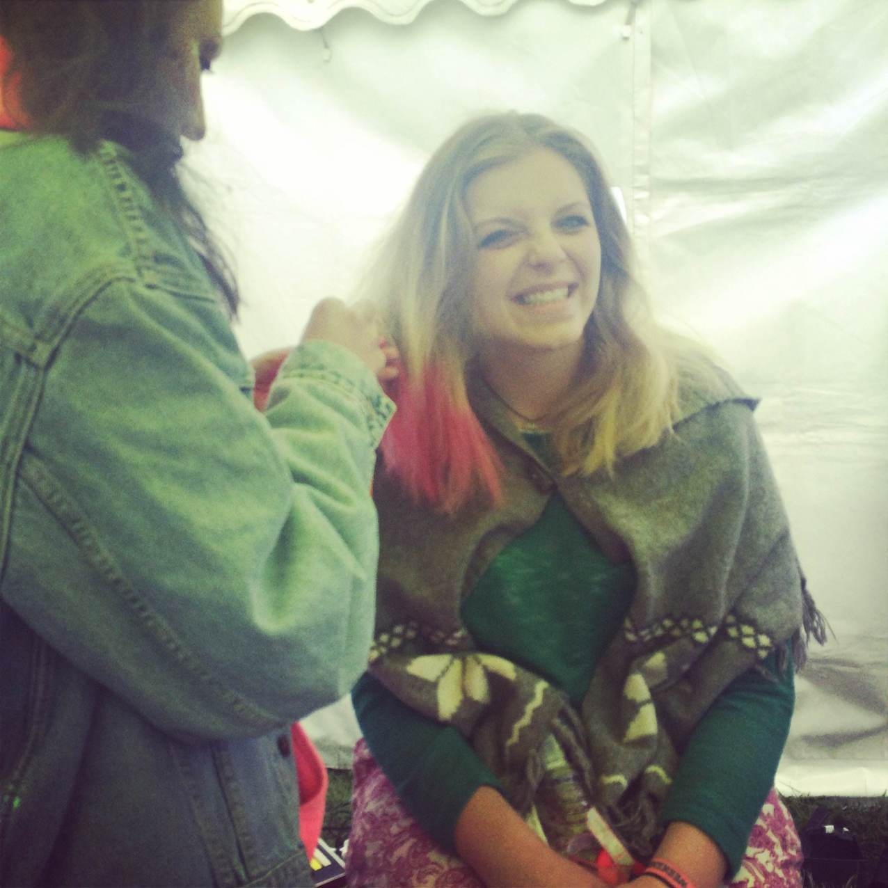 PInk dip dye ruled day 3 of IOW