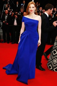 Jessica Chastain Cannes Atelier Versace