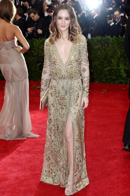 Leighton Meester Pucci met ball