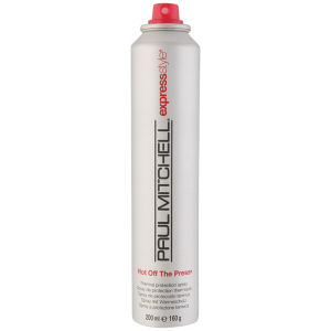 Paul Mitchell hot off the press heat protection spray