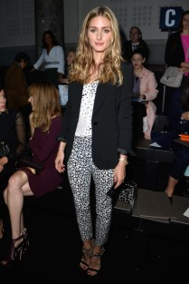 Olivia Palermo style couture frow aw14