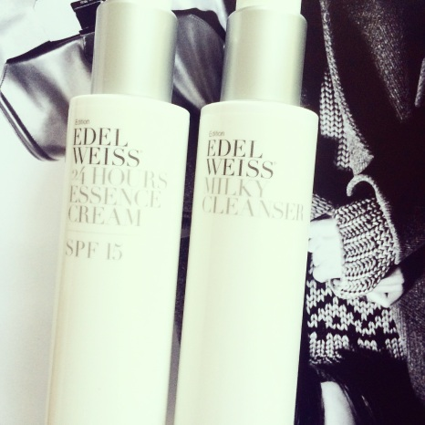 Edelweiss edition cleanser