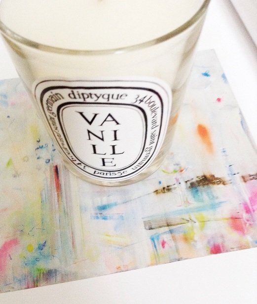 Diptyque candle vanille
