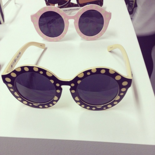As did the new collection of kooky sunnies from Australian eyewear brand Quay, the black and yellow spotted sunnies are high on my list,