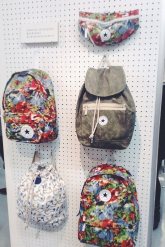 The Hawaiian converse backpacks also took my fancy, perfect for festivals, roads trips and days at the beach.