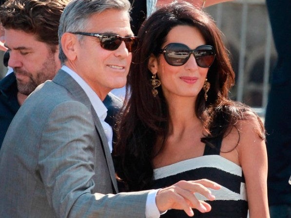 Undoubtedly the rising star of the year. She managed to get him to put a ring on it, is beautiful and brainy. We love Amal Clooney
