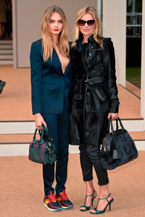 Kate and Cara were Burberry's Brit Girls of 2014 pictured at the brand's LFW show, we can't wait to see what Naomi and Jourdan wear next season.