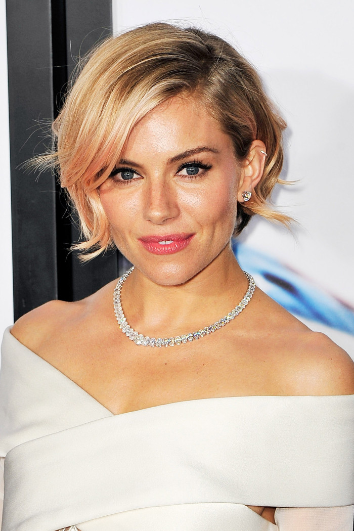 It was so nice to see Sienna Miller back, we're loving her new pink tinted bob