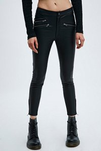 Urbanoutfitters leather trousers