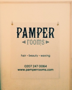 Pamper rooms