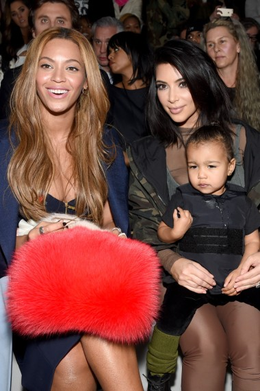 Beyonce Kim and North