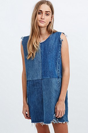 Urban renewal denim dress