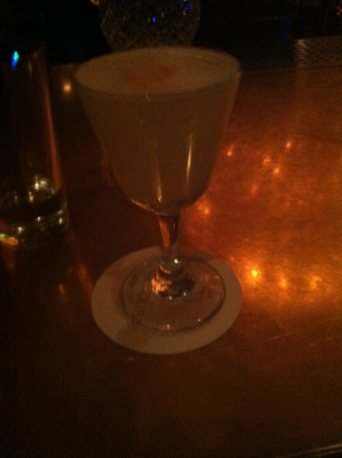Pisco sours at Soho House