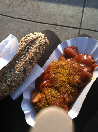 My first currywurst