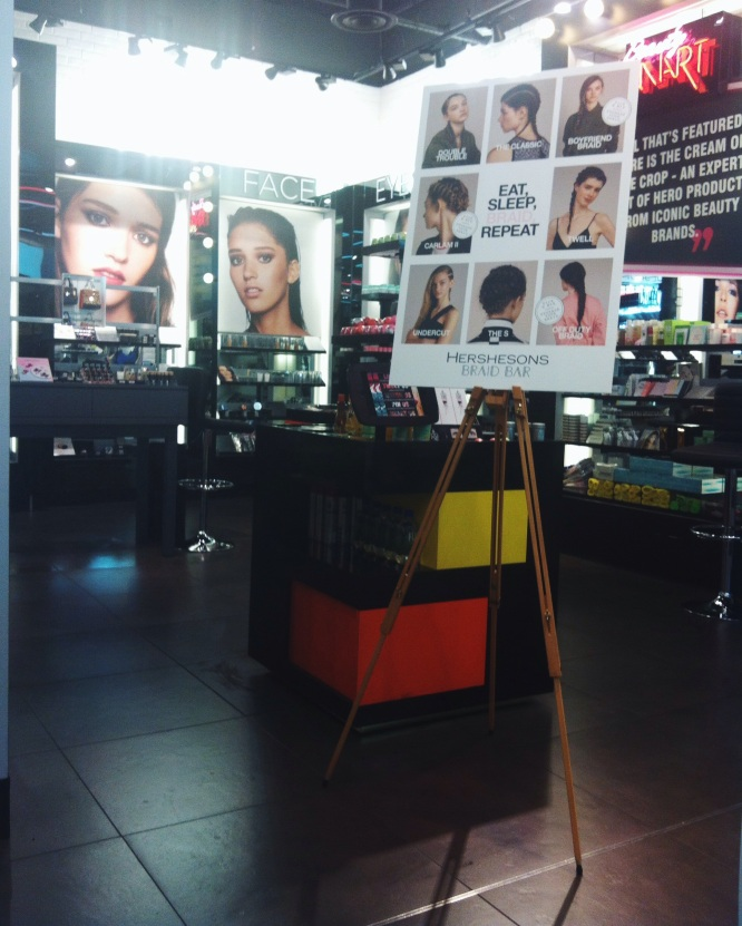 Topshop beauty hall