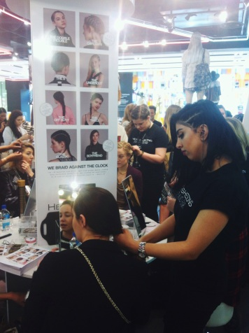 Braid bar Topshop