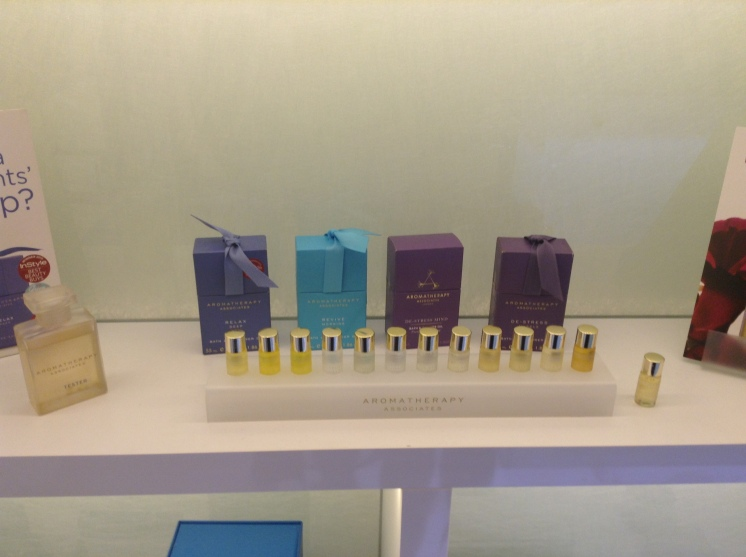 Aromatherapy Associates in the K West shop