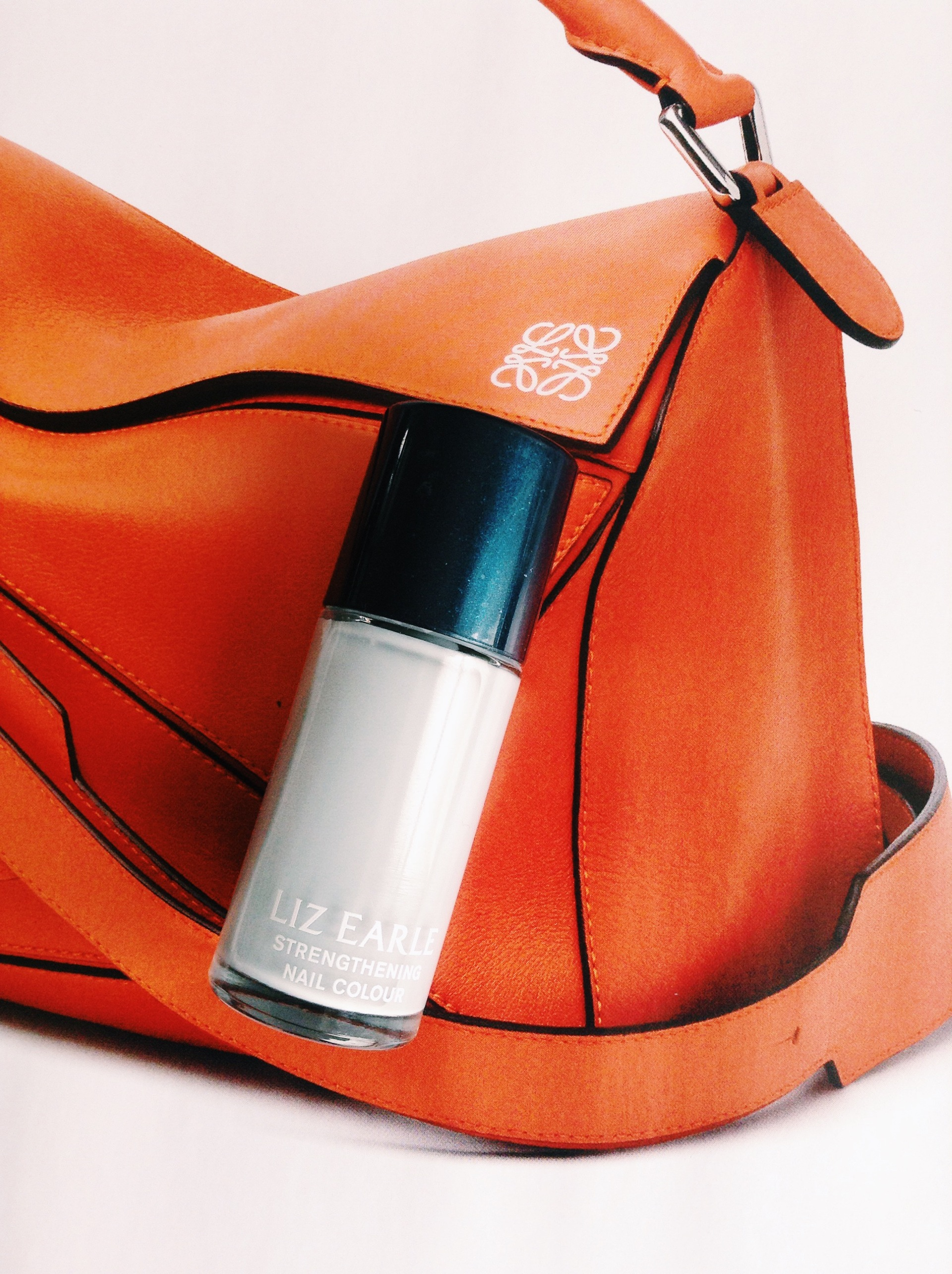 Liz Earle Grey nail polish