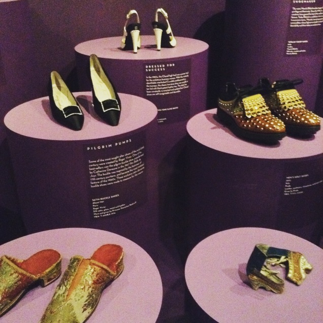 V&A Shoes: pleasure pain