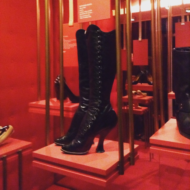 Gorgeous boots from the 'naughty nineties'