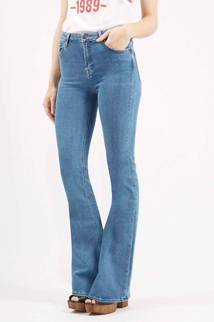 Topshop flared jeans