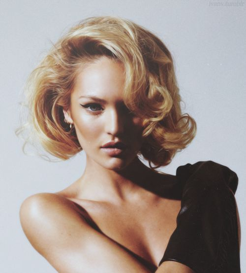 candice curly bob