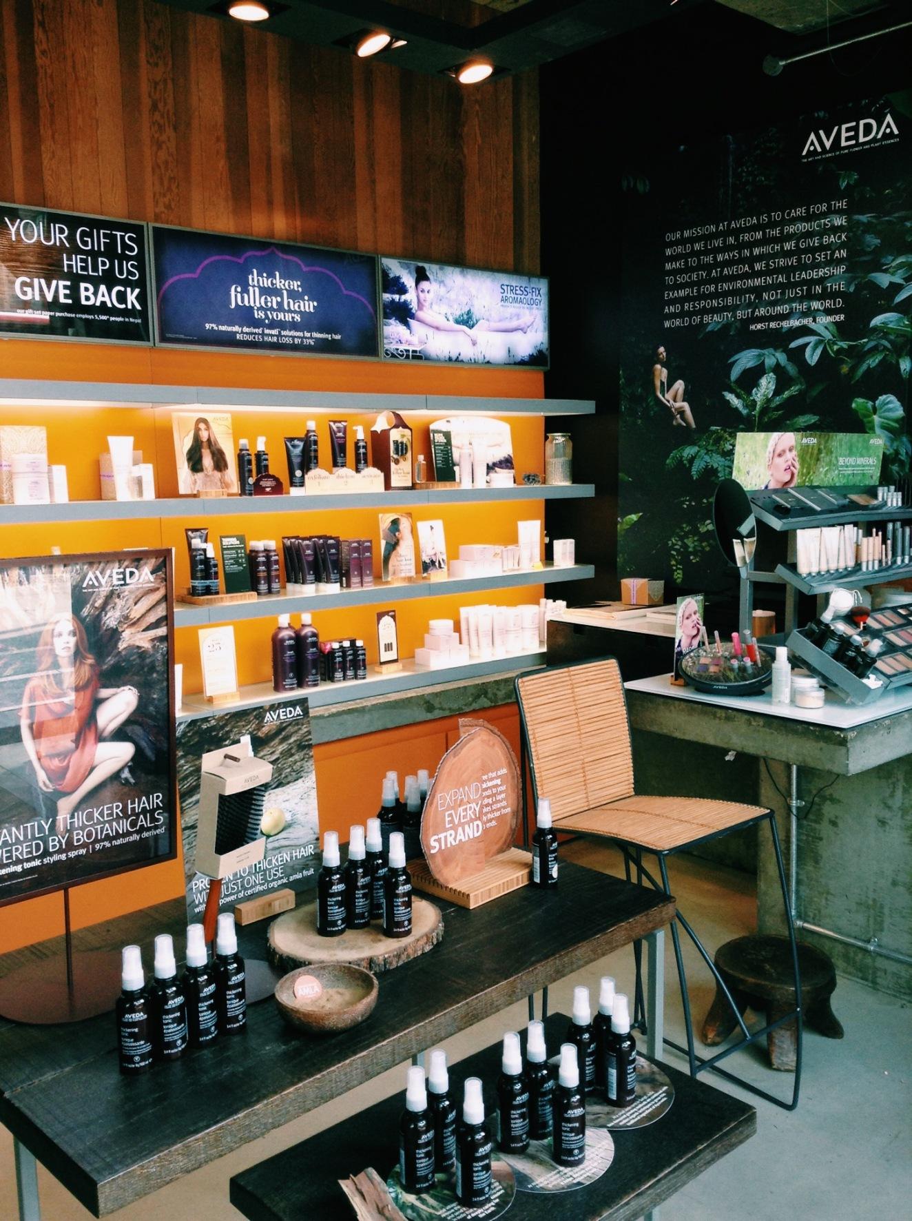 Inside the Aveda Institute