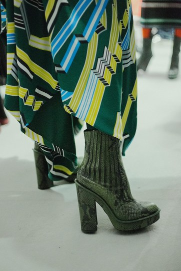 Unashamedly garish at Kenzo