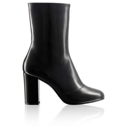 Russel & bromley runway black leather boots 2