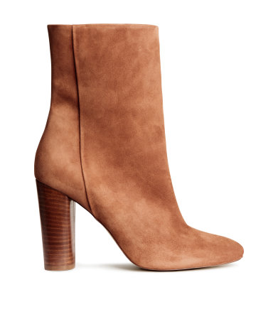 suede boots hm