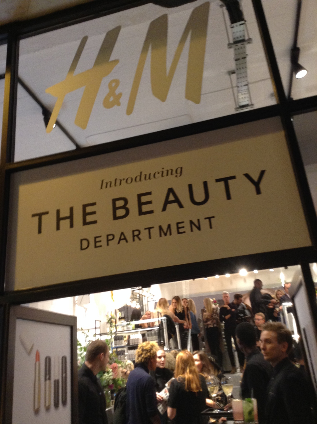 The H&M Pop-up