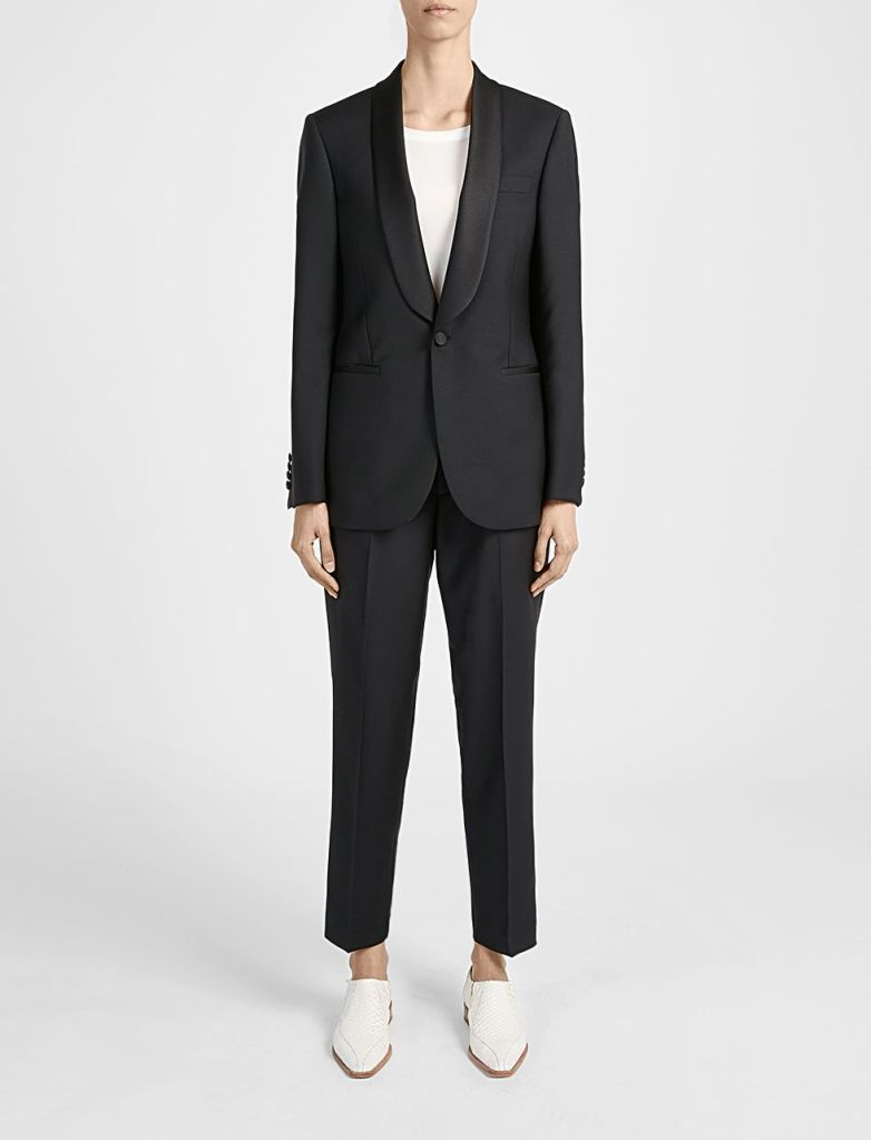 Joseph Tuxedo jacket suit ladies
