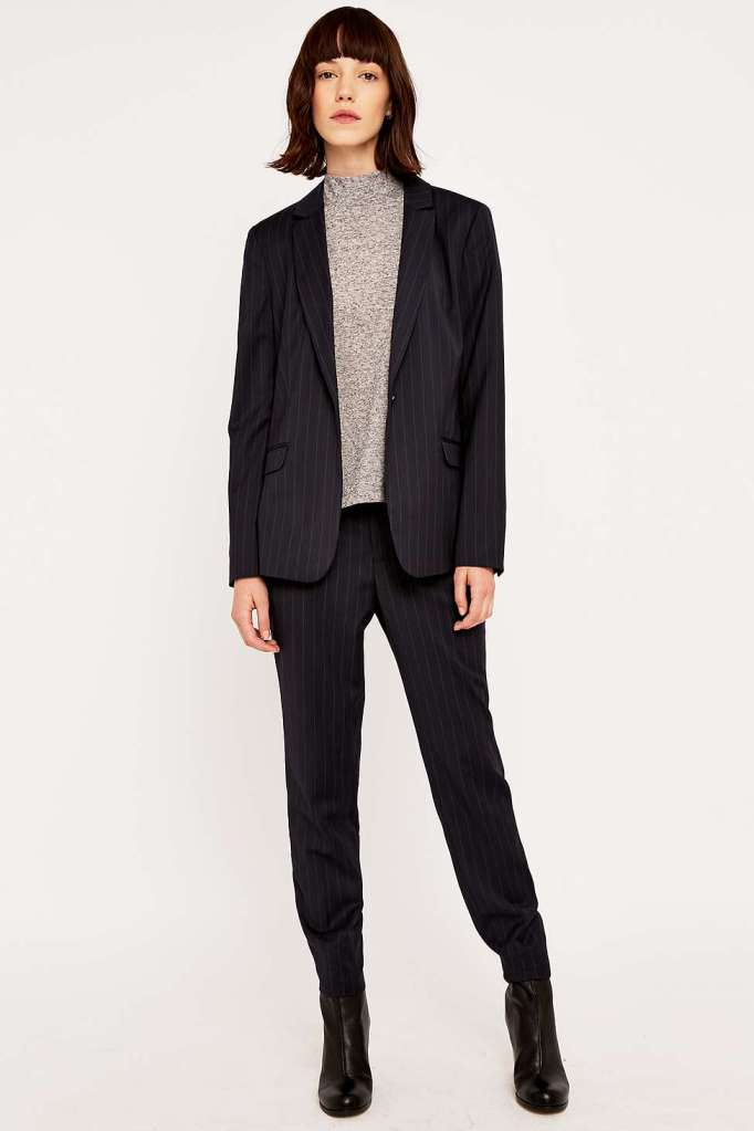 urban outfitters pinstripe suit