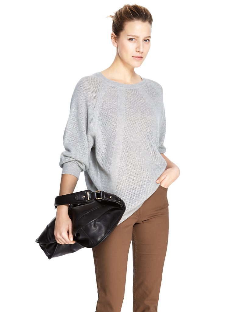 M&S Cashmere Grey