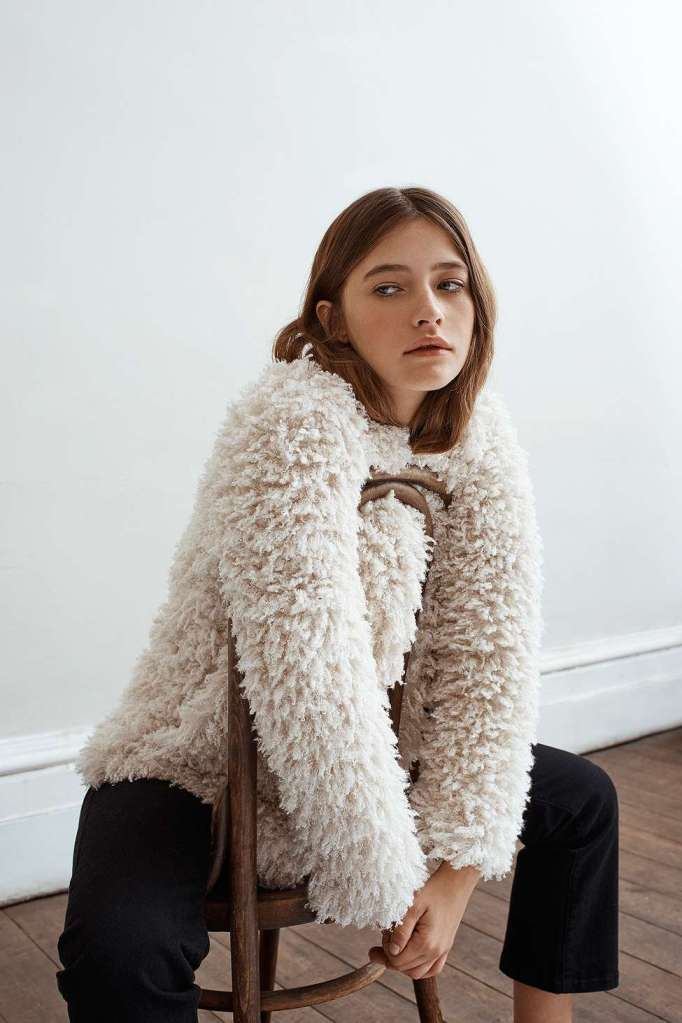 Urban outfitters shaggy cardigan