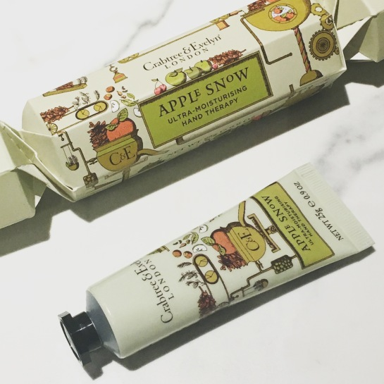 Crabtree & Evelyn - hand Therapy Christmas Cracker