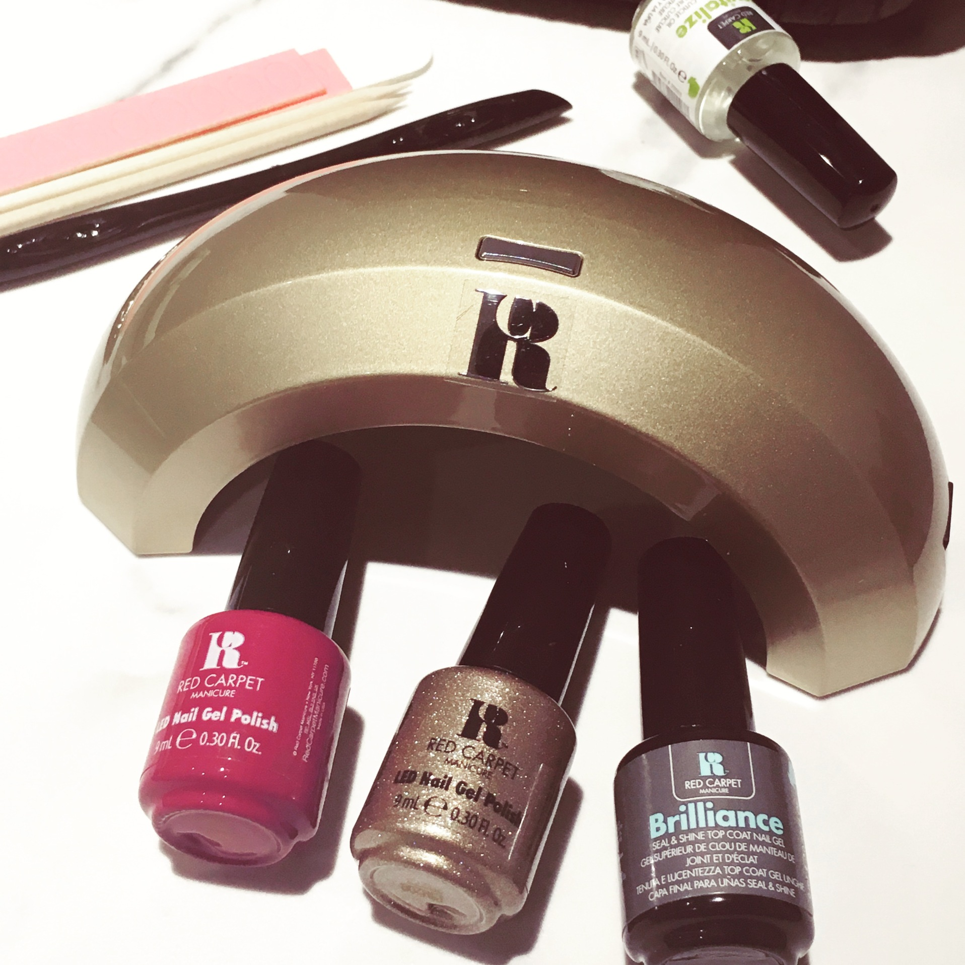Red Carpet Manicure - At Home Gel Nail Kit