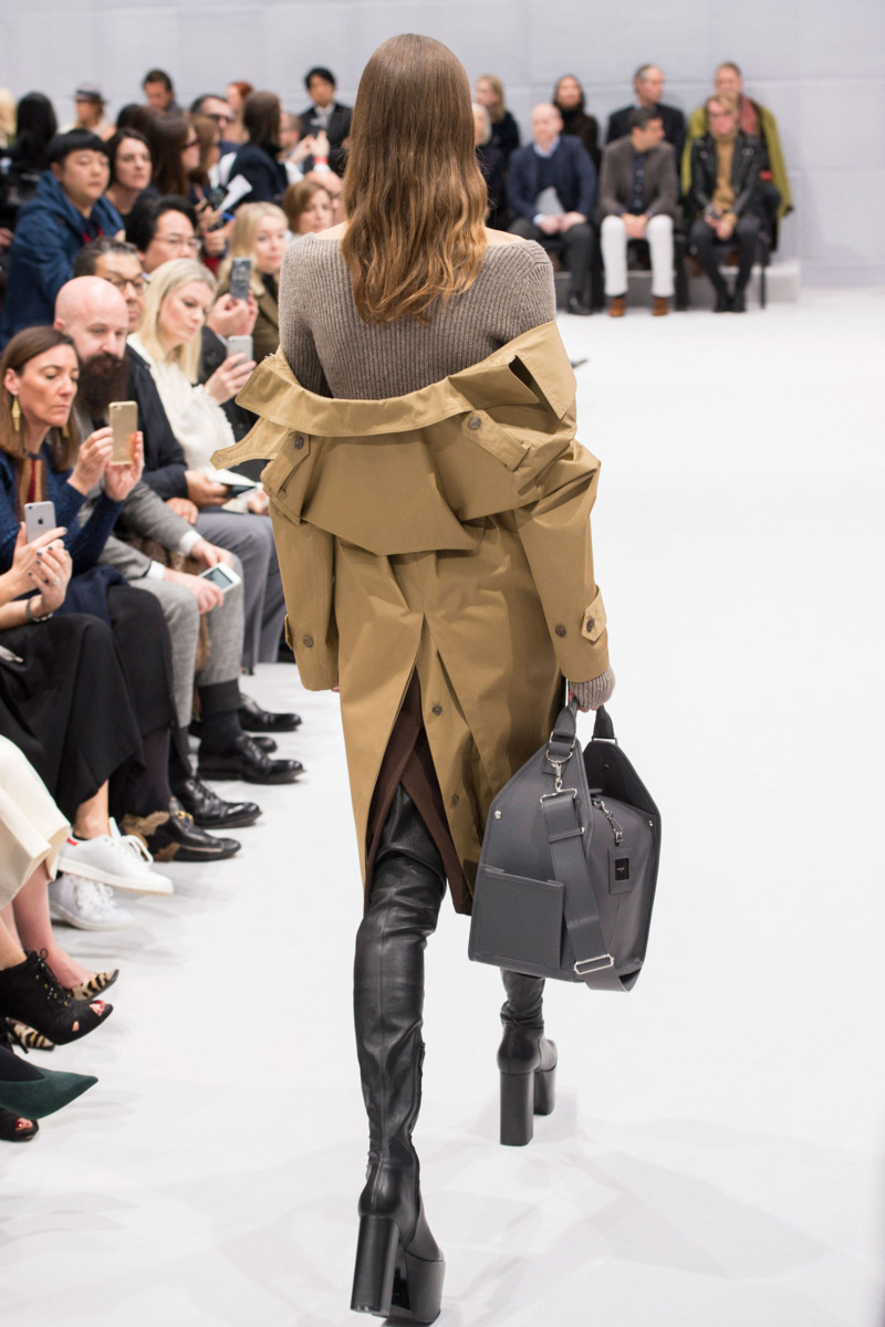 Back Balenciaga Trench AW16