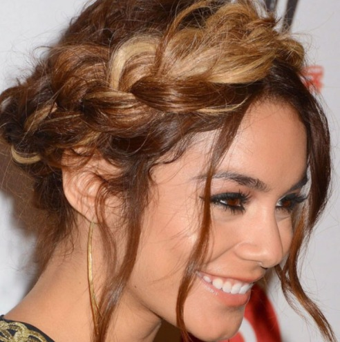 Vanessa Hudgens Hailo Braid