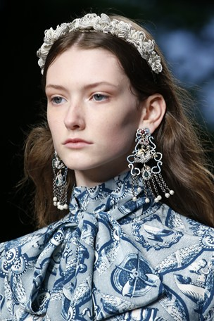 Gucci SS16 Hair Accessories