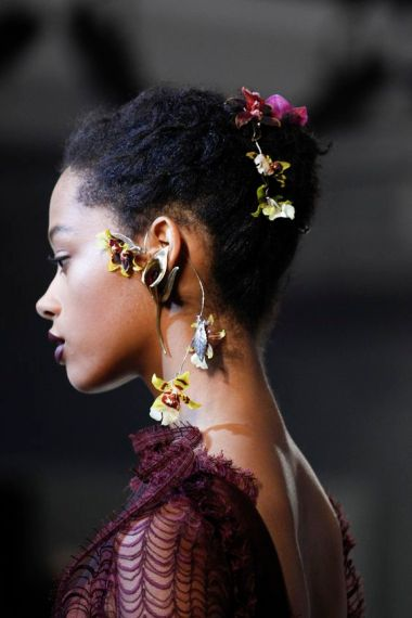 Rodarte SS16 hair accessories