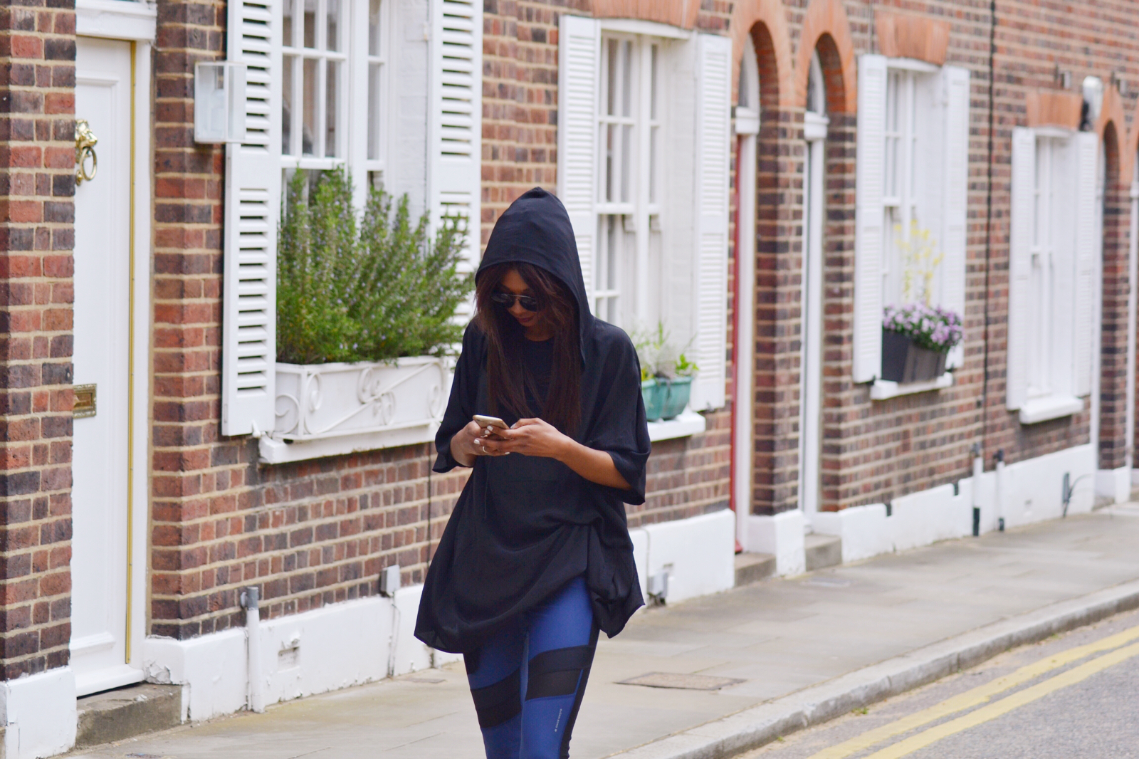 activewear as outerwear blush shoots wokout style