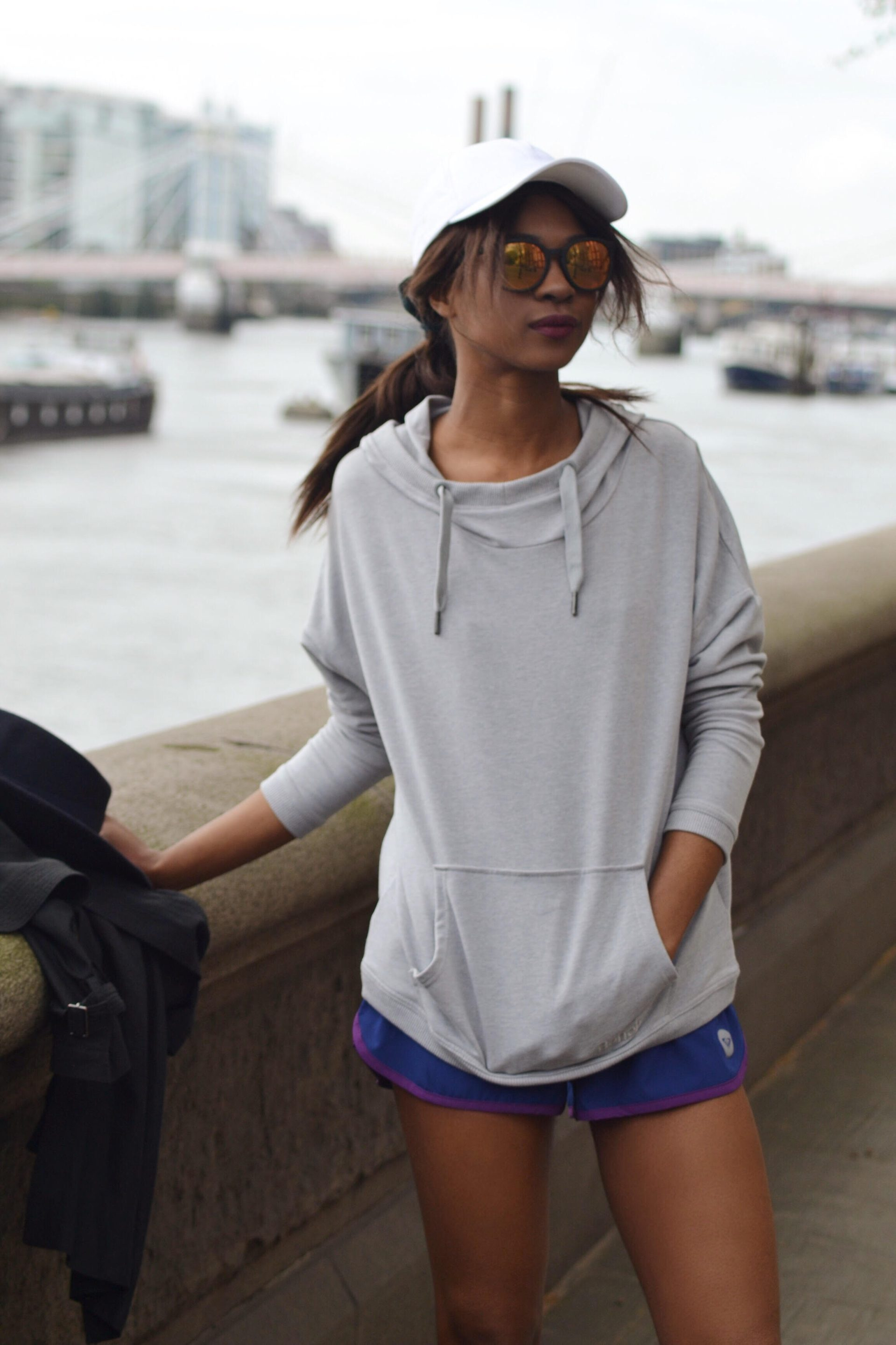 chelsea embankment fitness shoot blush london