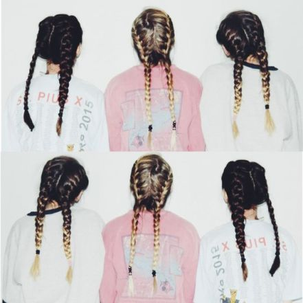 get the look french braids