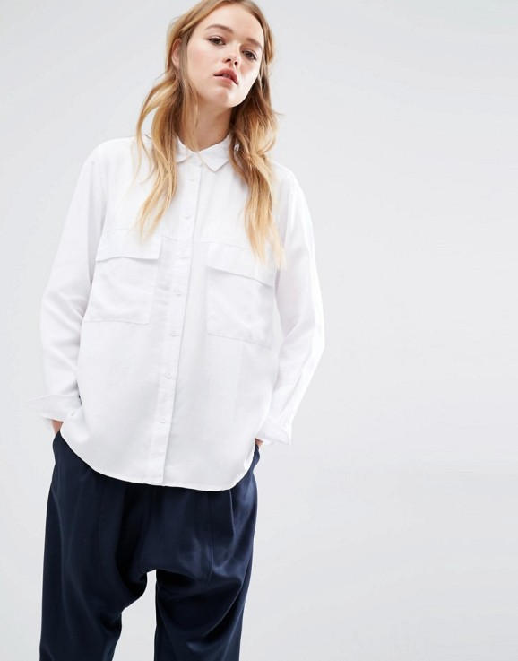ASOS Native Youth utility boyfriend shirt