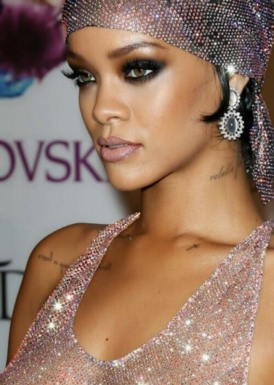 best nude lips for dark skin beauty rihanna