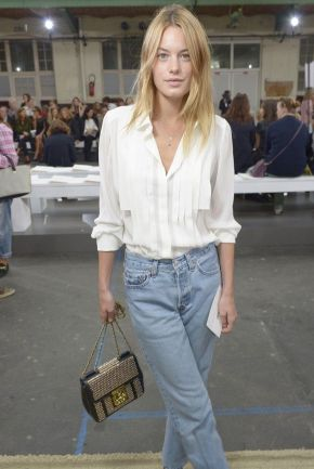 Camille Rowe French Girls Style