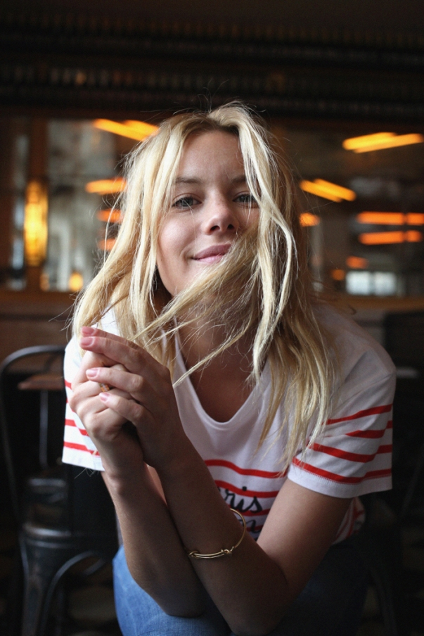 Camille Rowe Get the Look French Girl Style Blush London