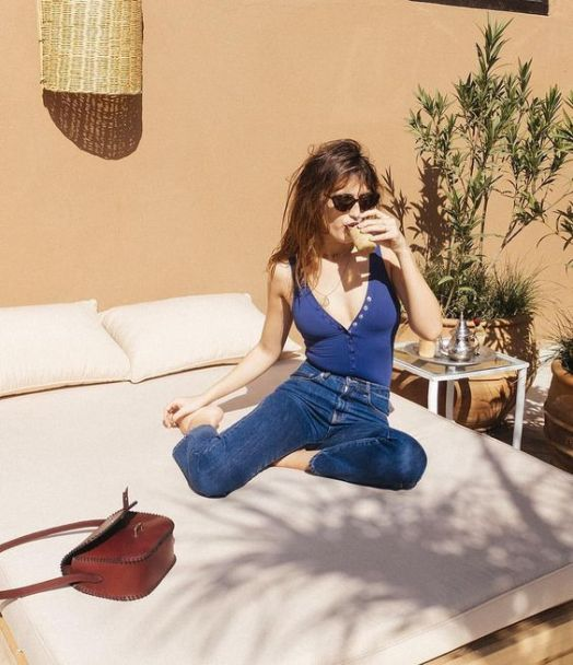 Jeanne Damas French Girl summer style